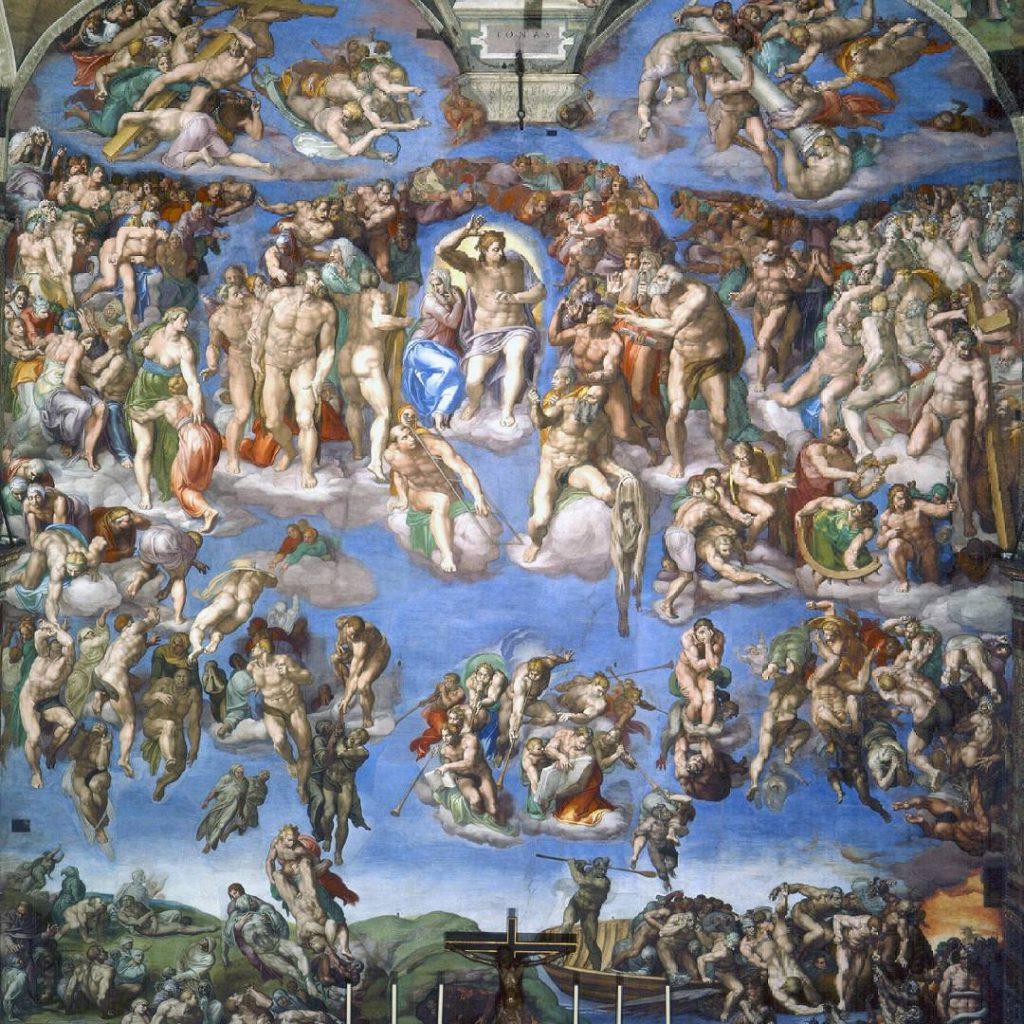 最後の審判,The Last Judgement,システィーナ礼拝堂,Cappella Sistina,Michelangelo di Lodovico Buonarroti Simoni
