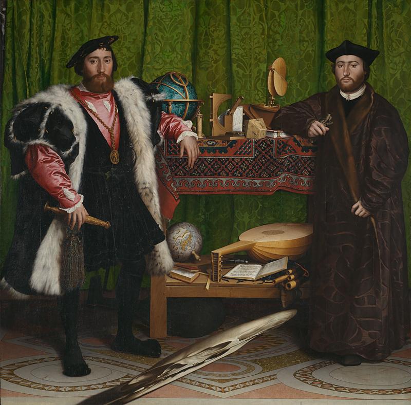 アンバサダー,Hans Holbein the Younger The Ambassadors 1533