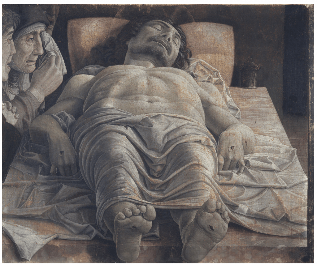 死せるキリスト,Lamentation over the Dead Christ,ブレラ美術館,Pinacoteca di Brera,アンドレア・マンテーニャ,Andrea Mantegna