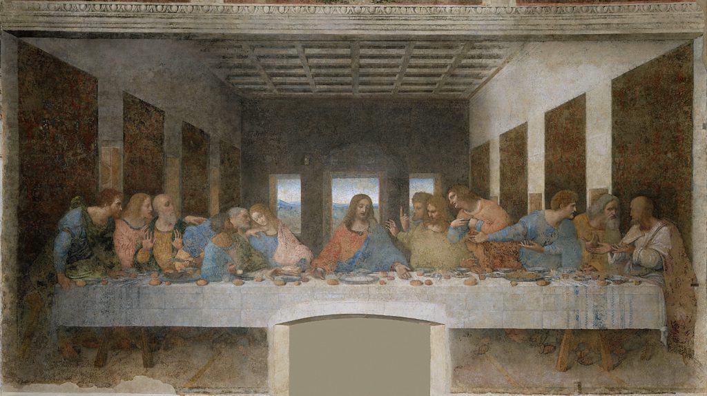 最後の晩餐,The Last Supper,Leonardo da Vinci,レオナルドダヴィンチ,Church and Dominican Convent of Santa Maria delle Grazie